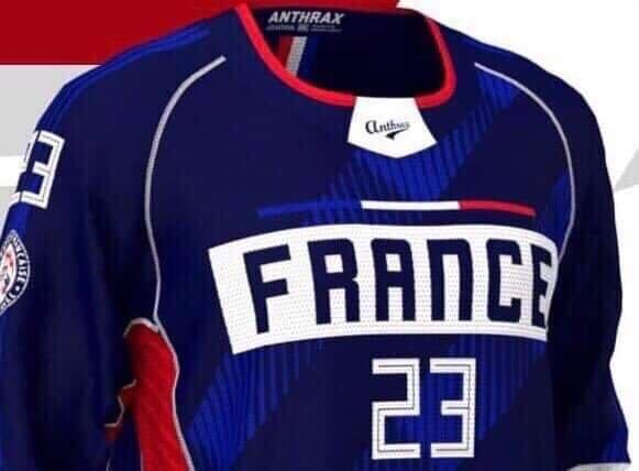 Jersey de l'Equipe De France de Paintball